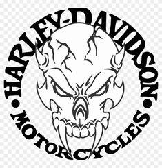 Harley Davidson Decals, Harley Davidson Gear, Harley Davidson Tattoos, Harley Davidson Motorcycles, Skull Stencil, Stencil Vinyl, Skull Art, Stencils, Tribal Tattoos