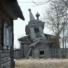 Kalatinka Chapel, Russian wooden church