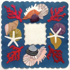 Shells by Betsy Lou Applique patterns