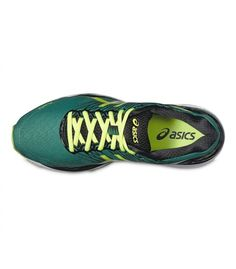 ASICS GEL-NIMBUS 18 PINE / FLASH YELLOW / BLACK