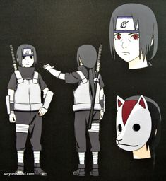 Young Itachi in the ANBU