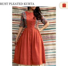 Kurti Stylish Dresses, Simple Dresses, Casual Dresses, Salwar Designs, Blouse Designs, Pakistani Dresses, Indian Dresses, Kalamkari Dresses, Kurta Style