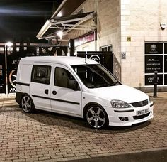 """official lowdown vans on Instagram: """"Owner: @brianallan7 He sent in his  clean looking Vauxhall combo sitting on some sick Astra coupe turbo alloys ======================= The…"""" Cars And Motorcycles, Cool Cars, Sick, Vans, Instagram, Store, Ideas, Autos, Cutaway"""