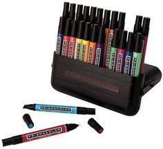 Prismacolor double ended art markers