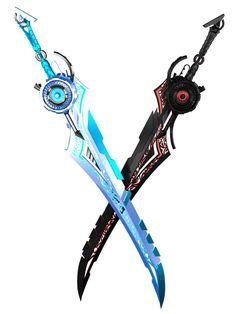 Sci-Fi Swords by Kalephrex - Blender - Ideas of Blender #Blender -  Sci-Fi Swords by Kalephrex