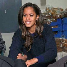First Daughter Malia Obama.