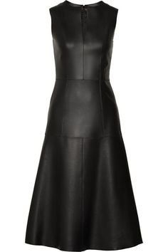 If I was going to wear a leather dress - this would be it.