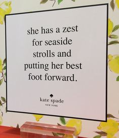 Kate Spade Capri Collection 2014