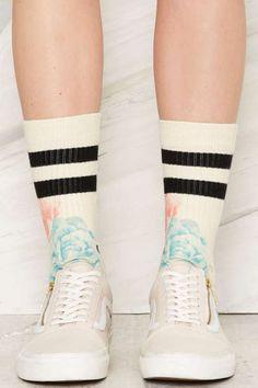 Stance Homecoming Classic Crew Socks - Pieces de Resistance
