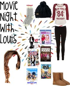 Movie Night Outfits on Pinterest | Sleepover Outfit Airport Fashion and Casual Date Nights