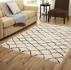 Better Homes And Gardens Moroccan Cream Woven Area Rug