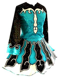 Irish Dance - Solo Dress, I loved this one when I was 13 or 14