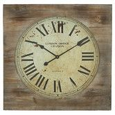 "Found it at Wayfair - 27"" London Bridge Station Square Wall Clock"