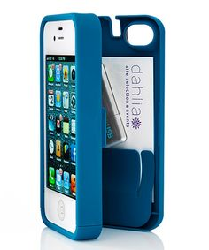 These are awesome! Perfect for business cards or even a house key while you run. :: Turquoise Case for iPhone 5/5s