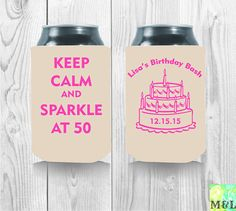 Last Fling Before The Ring Bachelorette Koozie by MintandLemon Birthday Bash, It's Your Birthday, Wedding Koozies, 50th Party, Best Part Of Me, Drink Sleeves, Party Favors, Templates, Handmade Gifts