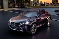 Lexus dévoile le UX Concept sur le Mondial de Paris 2016