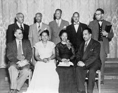Margaret Walker with poets at Jackson State College festival. Walker is in the front row, second from right, with Langston Hughes to the right and Robert Hayden African American Poets, African American Inventors, African American Studies, American Story, Famous Black Poets, Famous Poets, Margaret Walker, Sterling Brown, Jackson State University