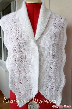 Белый шарф-снуд - Вязание - Страна Мам
