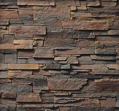 Cultured Stone Pro-Fit Ledgestone Southwest Blend Stone Veneer - The Brickyard Stone Texture Wall, Wood Floor Texture, Tiles Texture, Brick Cladding, House Cladding, Wall Cladding, Stone Wall Design, Wall Tiles Design, Brick And Stone