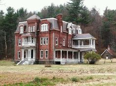 why is this abandoned?!( Graves Mansion , Ausable Forks NY) More