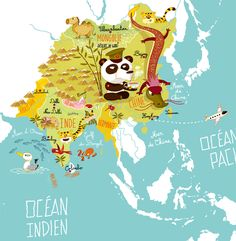 Carte du monde on Behance