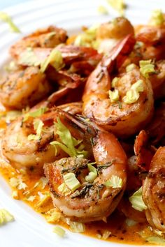 spicy drunken shrimp top