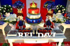 Resultado de imagem para aniversario de menino Rei Davi-sacola para crianças