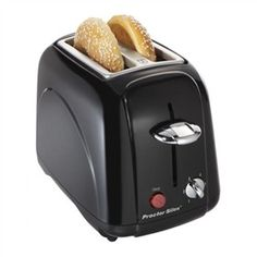 The Proctor Silex 22301 is a 4-slice toaster that can toast bread, bagels and more to your taste.