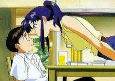 """Résultat de recherche d'images pour """"evangelion asuka et shinji"""""""