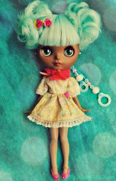 Blythe doll Skye is Ready to Fly!