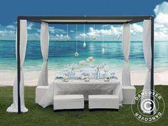 Trend Pavillon Resort xm Sonstiges f r den Garten Balkon Terrasse aus Hamburg