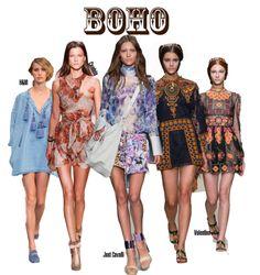 Fashion - Boho Style 2014