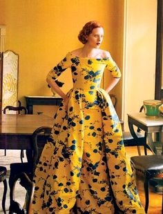 Karen Elson in The Other Man by Annie Leibovitz for Vogue US
