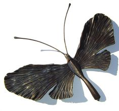 Forged Iron Butterfly 15 by NorthernCrescentIron on Etsy