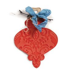 Sizzix - Bigz Die - Christmas - Die Cutting Template with Embossing Folder - Ornament 5 at Scrapbook.com $19.99