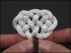 JD Lenzen is a genius on these videos where he very patiently demonstrates how to make a HUGE variety of KNOTS. Go to the Knot Gallery, select the knot you like and click on it to see the video. I was amazed how easy it was!