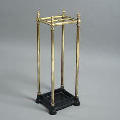 A 19th Century Brass Stick & Umbrella Stand - Timothy Langston