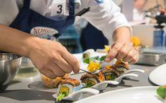 Mangostin Sushi Vorbereitung Sushi, Plastic Cutting Board, Asia, Challenges