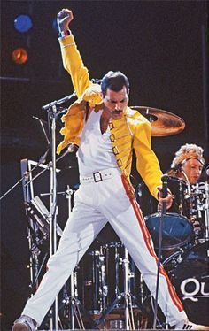 Freddie Mercury-this is where the meme comes from.