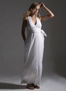Beyaz hamile abiye