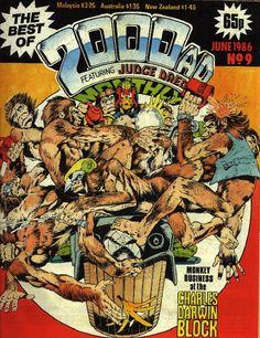 Best of Judge Dredd 9 1986 #cover