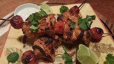 Murg Masala Chicken Kebabs