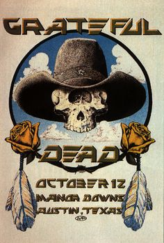 1977 Grateful Dead poster from Manor Downs Rock Posters, Band Posters, Music Posters, Vintage Concert Posters, Vintage Posters, Concert Rock, Grateful Dead Poster, Art Music, Rock Art