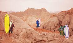 In Iran, where the women school the men on surfing | Public Radio International