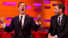 I love Benedict doing the Chewbacca impression...