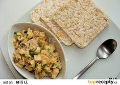 Celerový salátek s kuřecím masem recept - TopRecepty.cz Bread, Food, Brot, Essen, Baking, Meals, Breads, Buns, Yemek