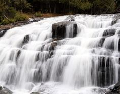 Bond Falls, Upper Peninsula, Michigan
