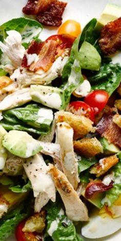 Chicken Club Salad ❊