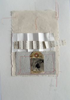 ⌼ Artistic Assemblages ⌼  Mixed Media & Collage Art - Blanca Serrano Serra