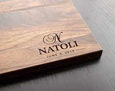 personalized cutting board – Etsy